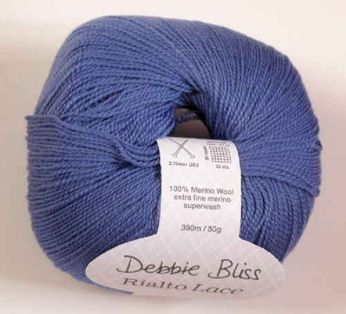 Debbie Bliss Rialto lace -Cornflower blue